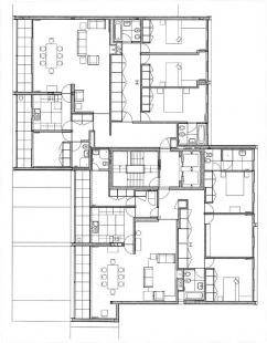 Bytový dům Teatro - 2-3NP - foto: Souto Moura Arquitectos S.A.
