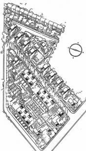 Kolonie Audincourt u Bordeaux  - Situace - foto: archiv redakce