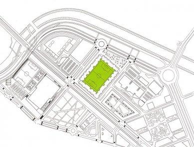 Fotbalový stadion Lasesarre - Situace - foto: © NO.MAD Arquitectura