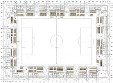 Fotbalový stadion Lasesarre - Půdorys - foto: © NO.MAD Arquitectura