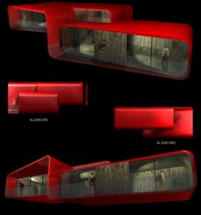 Casa pR34 - Vizualizace - foto: © rojkind arquitectos s.c.