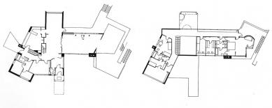 Dům Schminke - Půdorysy jedné z prvních verzí domu