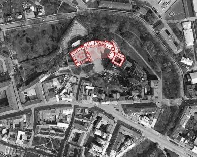 Arcidiecézní muzeum Olomouc - Situace - foto: HŠH architekti