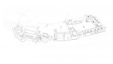Arcidiecézní muzeum Olomouc - Schéma vkládaných prvků - foto: HŠH architekti