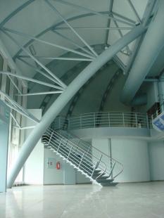 Odbavovací hala letiště Brno-Tuřany - foto: Ing. Jaroslav Drápal, FOTEX PLUS