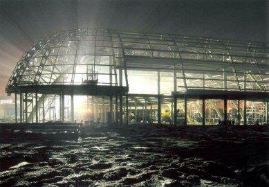 Odbavovací hala letiště Brno-Tuřany - foto: FA PAROLLI