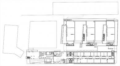 Fakulta  informačních  technologií  VUT - 1NP - foto: Architektonická kancelář Burian - Křivinka