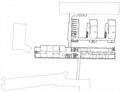 Fakulta  informačních  technologií  VUT - 2NP - foto: Architektonická kancelář Burian - Křivinka
