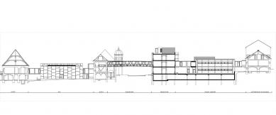 Fakulta  informačních  technologií  VUT - Řez - foto: Architektonická kancelář Burian - Křivinka