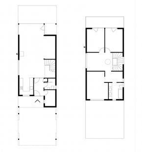 Rodinný dům K2 - Půdorysy - foto: ARCHTEAM