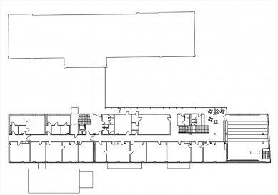 Pavilon Hygieny VFU v Brně - 2NP - foto: Architektonická kancelář Burian - Křivinka