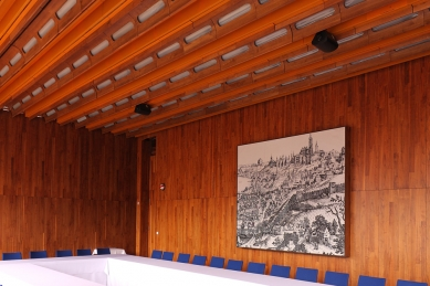 Budova zastupitelského úřadu ČSSR v DDR - Sál - foto: Lukáš Beran