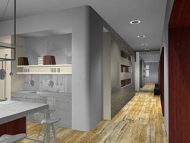 apartement _ P - Reconstruction and interior - Vizualizace - foto: © studio pha