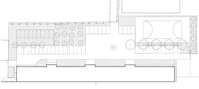 Rekonstrukce administrativní budovy firmy Milos - Situace - foto: Atelier UM