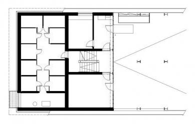 Dva domy se startovními byty - 1NP - foto: David Chmelař