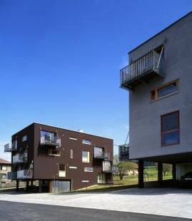 Dva domy se startovními byty - foto: Ester Havlová