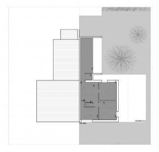 Novostavba rodinného domu - 2NP - foto: Znamení čtyř - architekti