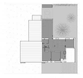 Novostavba rodinného domu - 1NP - foto: Znamení čtyř - architekti