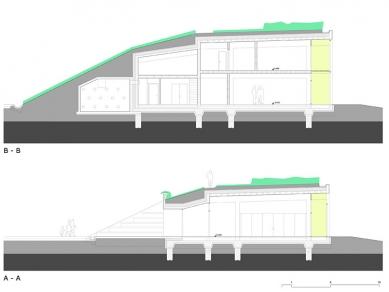 Středisko ekologické výchovy Sluňákov - Řezy - foto: © Projektil architekti