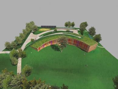 Středisko ekologické výchovy Sluňákov - Vizualizace - foto: © Projektil architekti