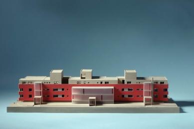 Bytový dům Paseky - Model - foto: Pavel Mudřík