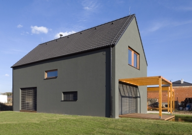 Rodinný dům Vrané nad Vltavou - foto: Ester Havlová