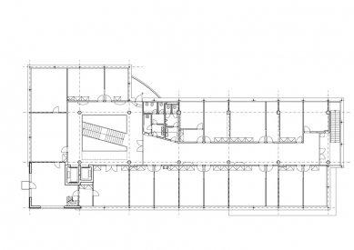 Sdružený objekt radnice, městské policie a expozitury banky - 4NP - foto: AVE architekt