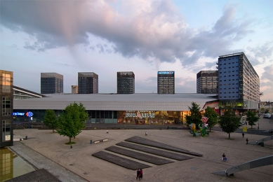 Euralille - Jean Nouvel - Komerční centrum Euralille - foto: Petr Šmídek, 2009