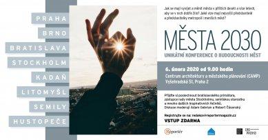 Města 2030 - konference v CAMPu