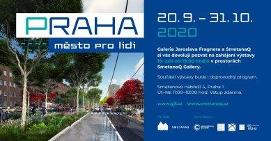 Praha - město pro lidi - výstava na Smetanově nábřeží