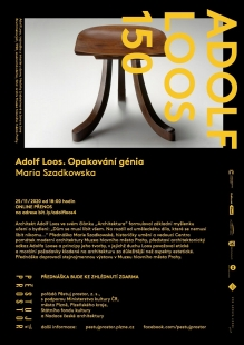 Adolf Loos 150: přednáška Marie Szadkowské