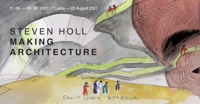Steven Holl. Making Architecture - exhibition in Wroclaw