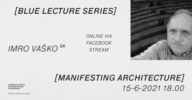 Blue Lecture Series - Imro Vaško