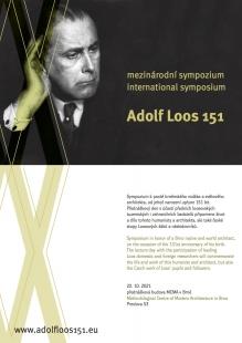 Adolf Loos 151 - mezinárodní symposium