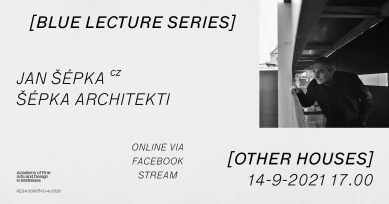 Blue Lecture Series - Jan Šépka