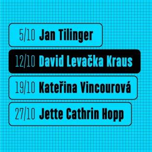 David Levačka Kraus: přednáška hostujícího ateliéru na FUA TUL