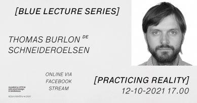 Blue Lecture Series - Thomas Burlon
