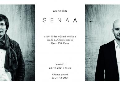 Deset let SENAA - pozvánka na výstavu v Kyjově - Pozvánka na výstavu