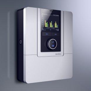 Společnost Schüco představila designově oceňované novinky v oblasti fotovoltaiky a solární termiky pro rok 2011 - Regulační zařízení ITE - foto: Schüco