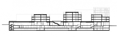 Polyfunkční dům Rosengarten v Arbon od Maxe Dudlera - foto: Max Dudler Architekten