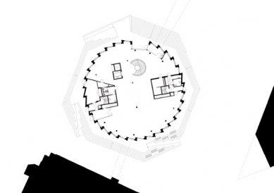 Kancelářská budova Kuggen v Göteborgu od Gerta Wingårdha - Půdorys přízemí