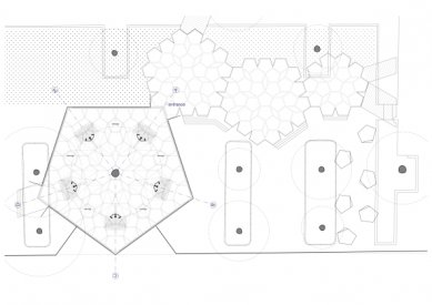 Zahradní pavilon v Koblenci od studentů z Trevíru