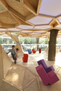 Zahradní pavilon v Koblenci od studentů z Trevíru - foto: Roland Borgmann