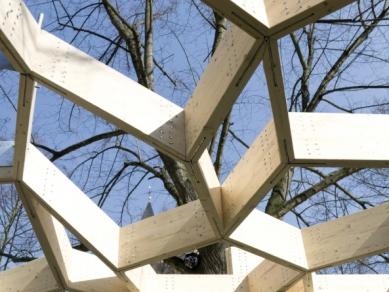 Zahradní pavilon v Koblenci od studentů z Trevíru - foto: HwK Trier