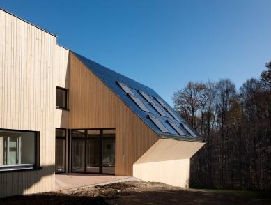 Sluneční dům - první rakouský CO2 neutrální rodinný dům