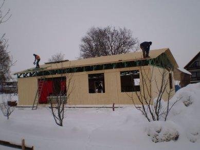 Pasivní dřevostavba - spotřebu máme pod kontrolou - Dům je pod střechou.
