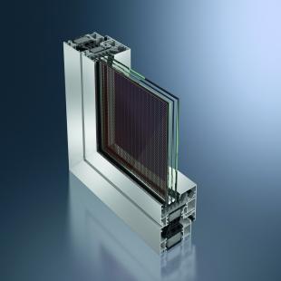 Veletrh Intersolar Europe 2011 přinese nové přístupy k využívání solární energie - Schüco - Hliníkový profil AWS 75.SI s ProSol TF