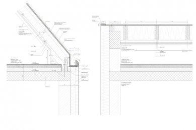 Dům M|H u Karlsruhe od Ulricha Langensteinera - Detaily