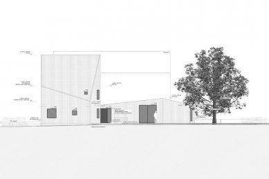 Dům M|H u Karlsruhe od Ulricha Langensteinera - Pohled