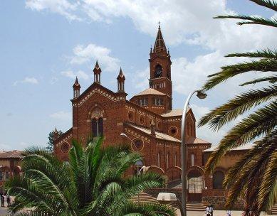 Asmara náboženská - Katedrála sv. Mary, 1923 - foto: Adam Lacina